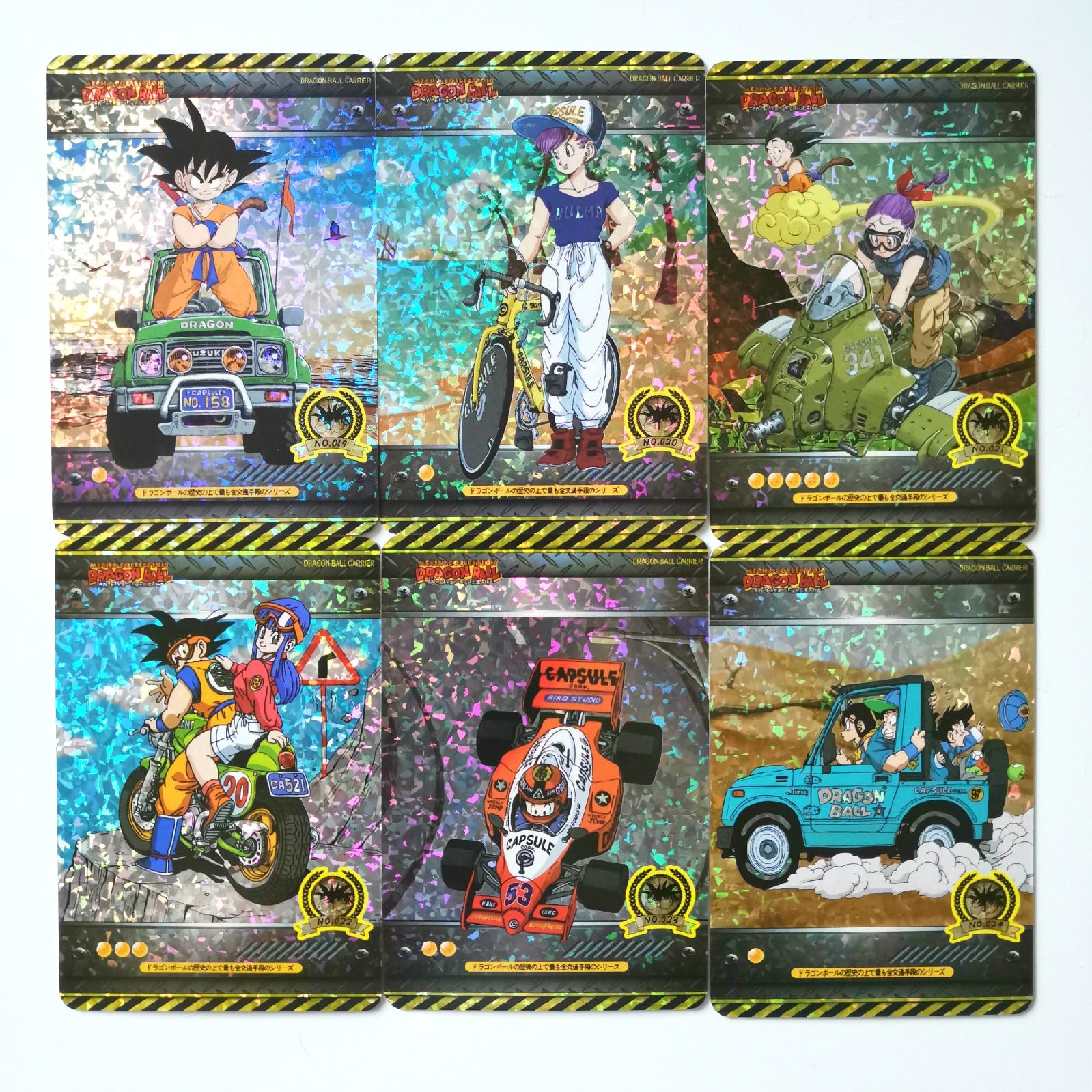 18 teile/satz Super Dragon Ball Z Fahrzeug Heroes Schlacht Karte Ultra Instinct Goku Vegeta Spiel Sammlung Karten