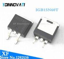 10 قطعة/الوحدة IGB15N60T G15T60 600V 30A 130W إلى 263 G15N60 أفضل جودة