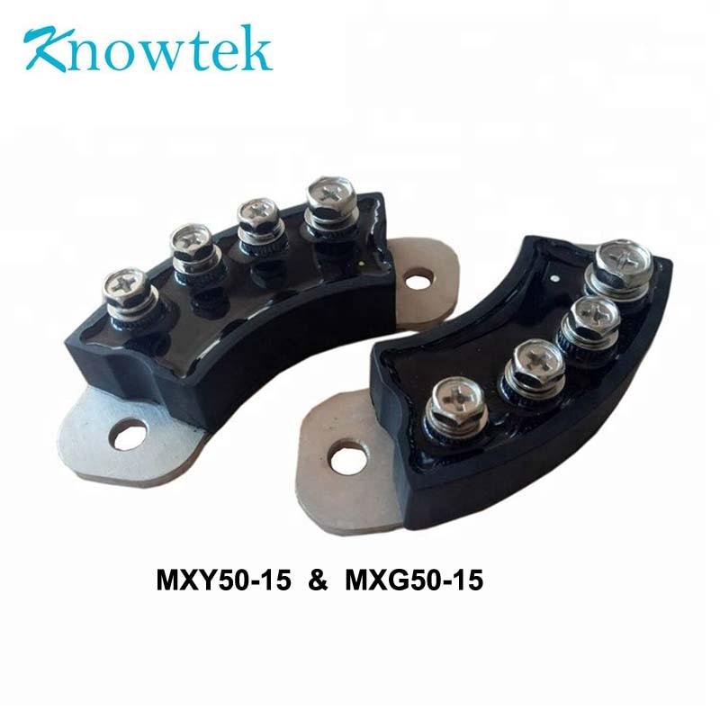 1 مجموعة مقوم الجسر الثنائي MXG50-15 مع MXY50-15 الدورية نوع ل مولد 70 مللي متر العزل