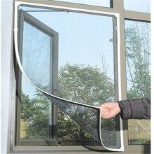 DIY Mosquito mosca mosquitera malla cortinas Protector Flyscreen World 130*150cm AA