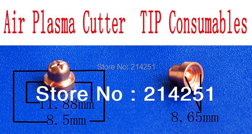 10 piezas PT31 soplete de corte por Plasma de aire consumibles-Punta (pt31)