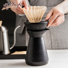 Ceramic Coffee Filter Cup Coffee Maker V60 Cafe Drip Coffee Brewer Espresso Coffee Dripper Cup Accessories Barista Tool