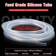 14x18 grado alimenticio tubo de silicona tubo ID 14mm OD 18mm nueva alta calidad