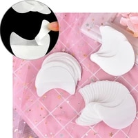 disposable pads eyeliner shield for eye shadow protector eyes lips lint free patch makeup application tool 20pcsset