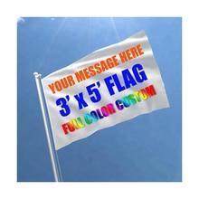Пользовательские флаг 90х150см баннер флаги 3х5фт Летающий полиэстер реклама Спортивное украшение Клубные вечерние Подарки Печать, бесплатная доставка