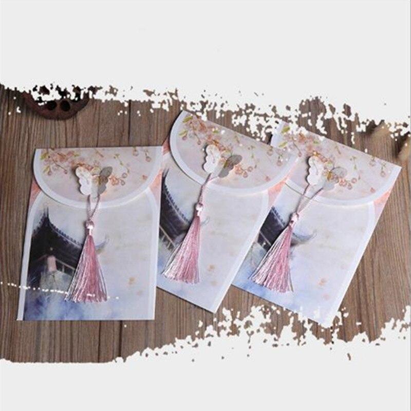Деловой конверт 30 шт./лот, черно-белый конверт из крафт-бумаги, конверт для свадебного приглашения, ретро креативный конверт