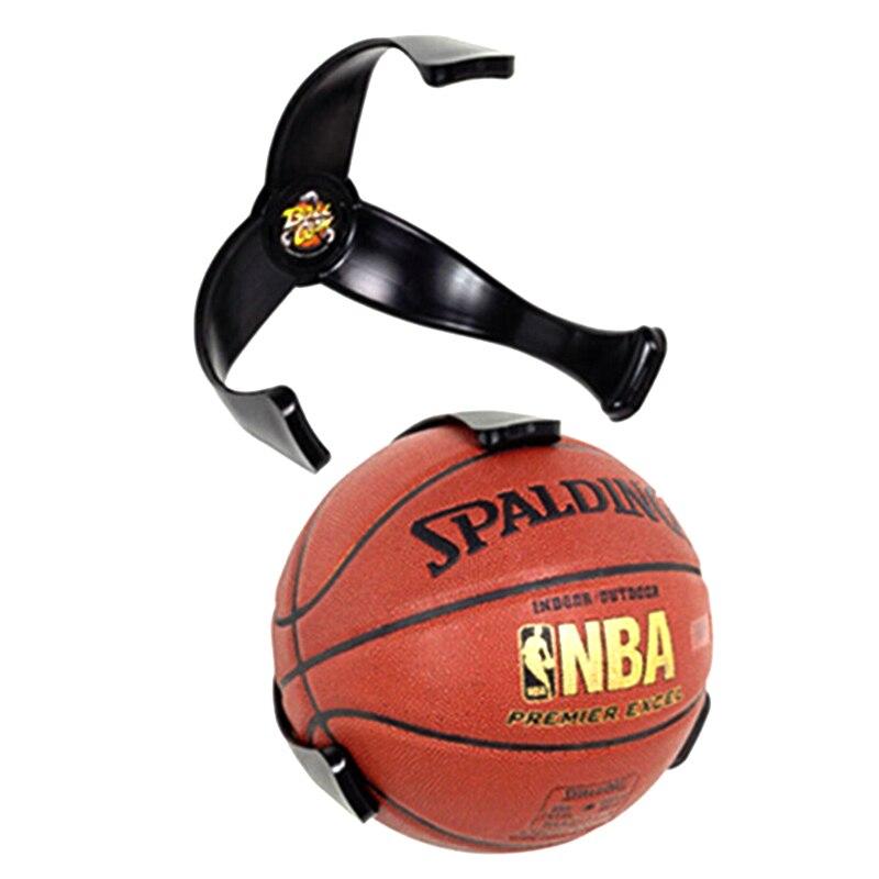 Soporte para balón de baloncesto para uso en el hogar 1 Uds. Garra creativa de bola soporte de pared para baloncesto soporte de fútbol suministros organizadores deportivos