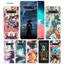 Anime Dragon Ball Comic Fall für Samsung Galaxy S10 S20 Ultra 5G S10e S9 S8 S7 J4 J6 Plus 2018 hinweis 10 8 9 Harte PC Telefon Abdeckung