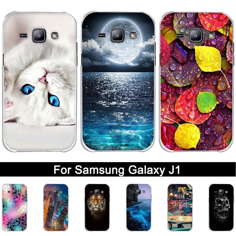 Printing Soft TPU Case For Samsung Galaxy J1 2015 J100H J100F Silicone Cover Case For Galaxy J 1 2015 J100 Back Phone Shells Bag