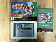 16Bit Games ** Harvest Moon ( Australia PAL Version!! Box+Manual+Cartridge!! )