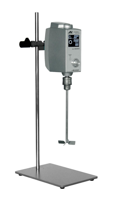 Instrumento científico de laboratorio, mezclador electrónico de velocidad constante LCD, motor CC sin escobillas AM300W-O capacidad de 30-2000rpm (H2O) 50L