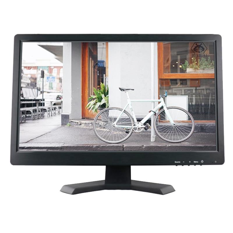 Pantalla táctil resistiva de 19 pulgadas de ancho monitor táctil lcd Pantalla de monitor táctil de alta resolución 1440*900 con AV/BNC/VGA/HDMI/USB