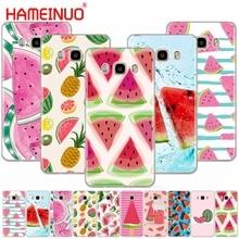 HAMEINUO Watermelon Melon cover phone case for Samsung Galaxy J1 J2 J3 J5 J7 MINI ACE 2016 2015 prime