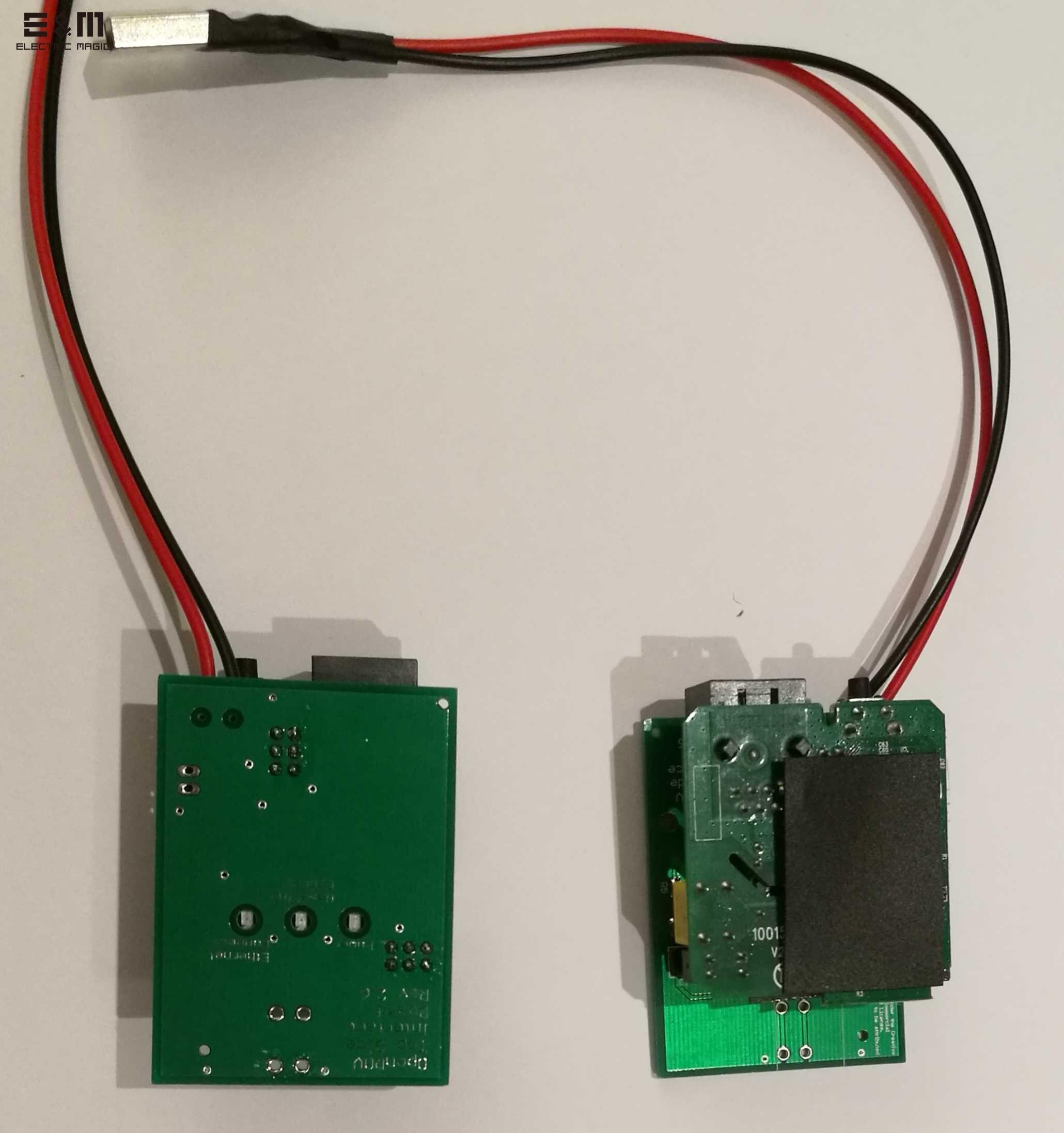 Module de transporteur de puissance de ROV de Communication de réseau à grande vitesse de 200 M pour le véhicule sous-marin de véhicule télécommandé par OpenROV