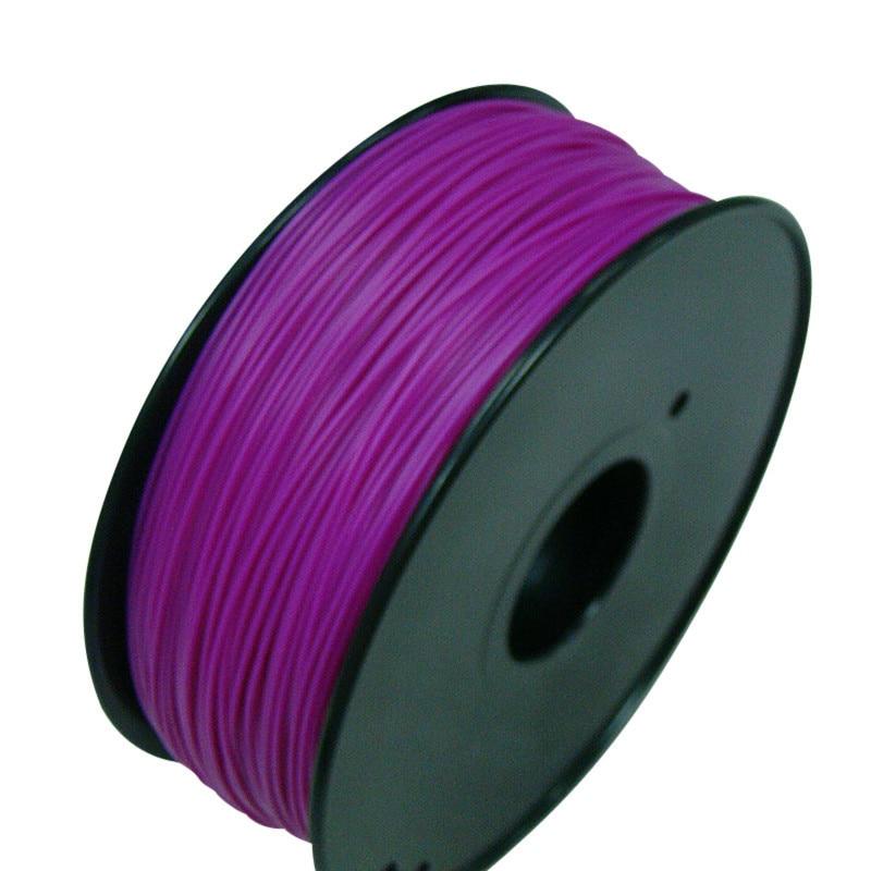 3d طابعة PLA خيوط القطر 3.0 مللي متر Polylactic حمض 1 كجم filamento