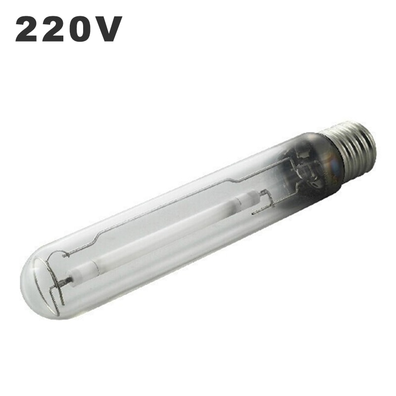 220V High Pressure Sodium Lamp E27 E40 High Voltage Sodium Lamp 70W 110W 250w 400w 1000w Plant Lighting Growing Bulb Yellow HPSL