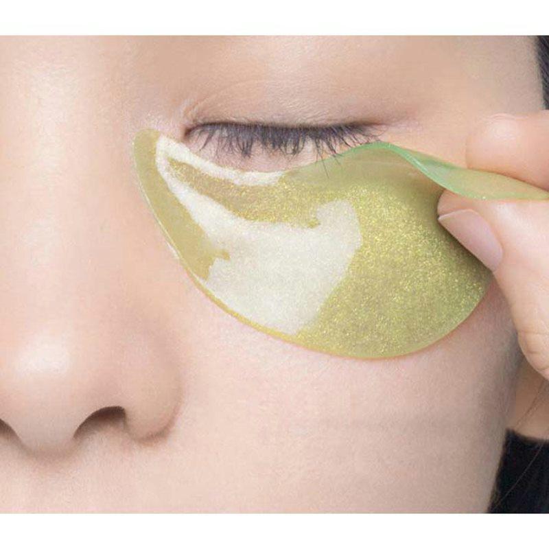 قناع العين الأخضر ، قلم النياسيناميد لتفتيح الهالات السوداء وأكياس العين ، ثبات ، ترطيب ، بيع العين