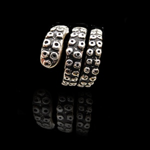 Whosale New Tentacle Ring Antique Style Octopus Jewelry Adjustable Ring Made of  Ancient Silver Plated