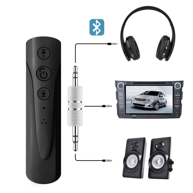 Автомобильный комплект громкой связи Bluetooth, беспроводной Bluetooth динамик, телефон, MP3 музыкальный плеер, разъем 3,5 мм, Aux, bluetooth, автомобильный ад...