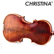 이탈리아 크리스티나 V05C 수제 전문 나무 violin4/4 luthier stradivarius 악기 4/4 등급 바이올린