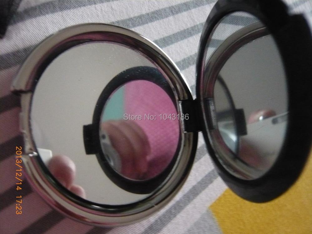 Свадебный подарок для подружки невесты-Damask элегантный черный и белый макияж зеркало компактный подарок для вечеринки для женщин 100 шт./лот