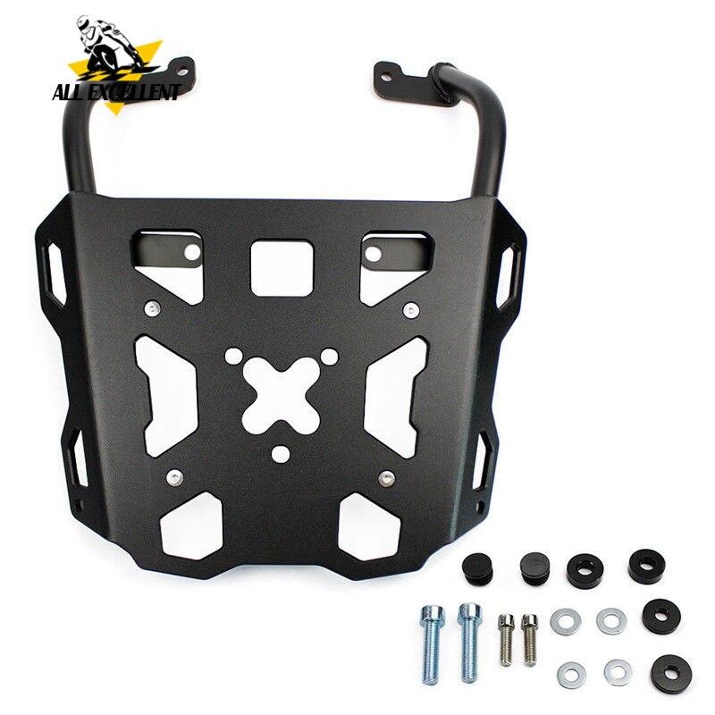 Portador traseiro de alumínio da cremalheira da bagagem da motocicleta para yamaha MT-09 tracer & tracer 900 2014-2018 fj09 fj 09 ems rápido