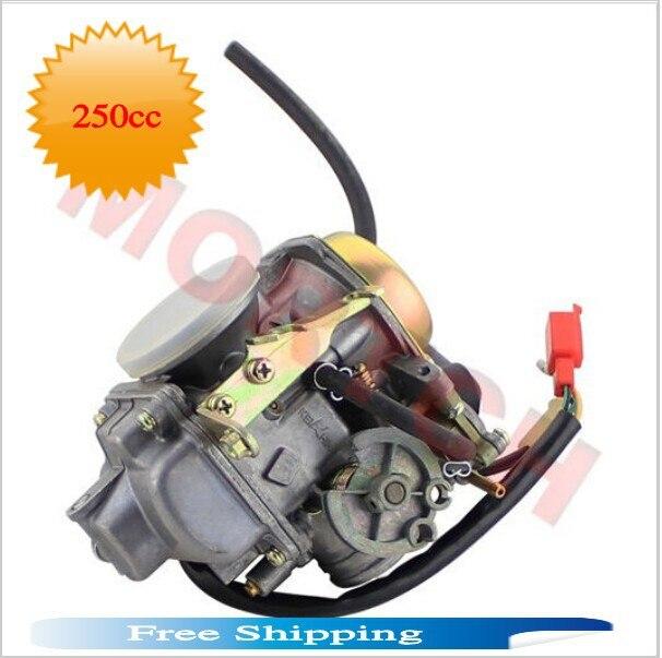 Repuestos de scooter chino CFMOTOR JMstar Jonway CF250 CH250 CN250 KF conjunto de carburador PD30 para Scooter ATV (envío gratis)