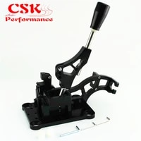 manual billet shifter box w gear knob fits for acura rsx fits for civic k swap eg ek dc2 ef