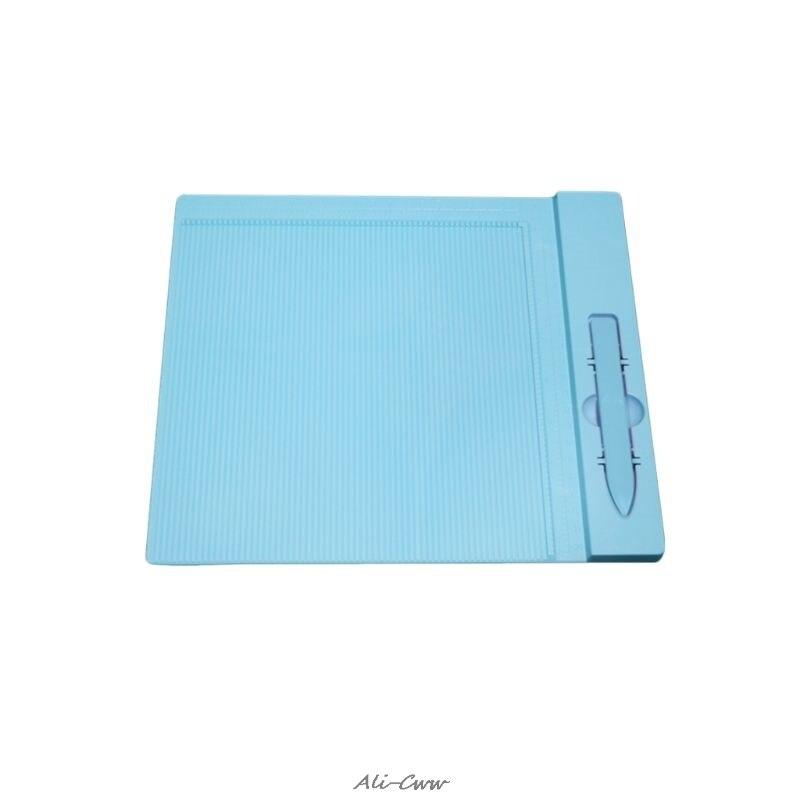 Herramienta profesional de medición de Mini puntaje, tabla de puntuación, para sobres de Origami, herramientas de carpeta de tarjetas