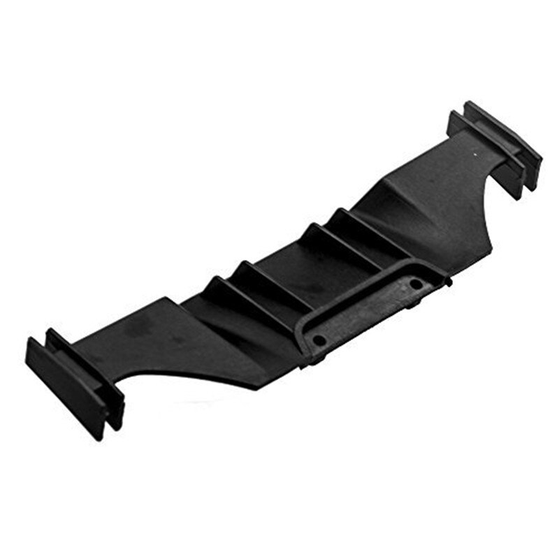 Visera trasera de plástico negro para alerón de ala, para Sakura D4 de 1/10, coche a control remoto para carreras, envío gratis 1 unidad