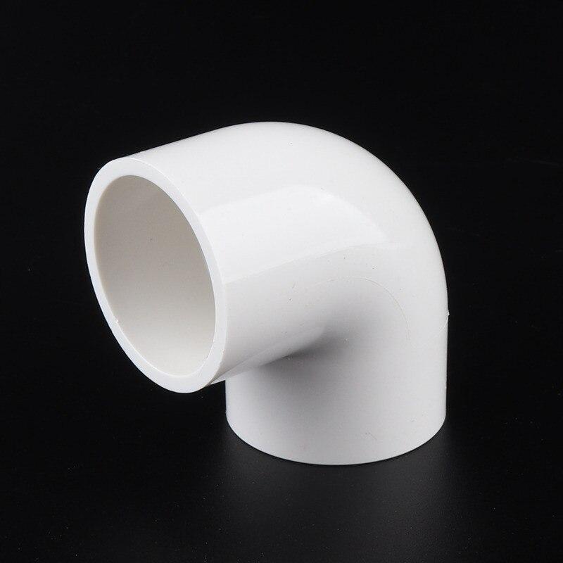 20 шт 32 мм локоть 90 градусов ПВХ фитинги пластиковые трубы локоть труба соединение для водоснабжения орошения аквариума циркуляции