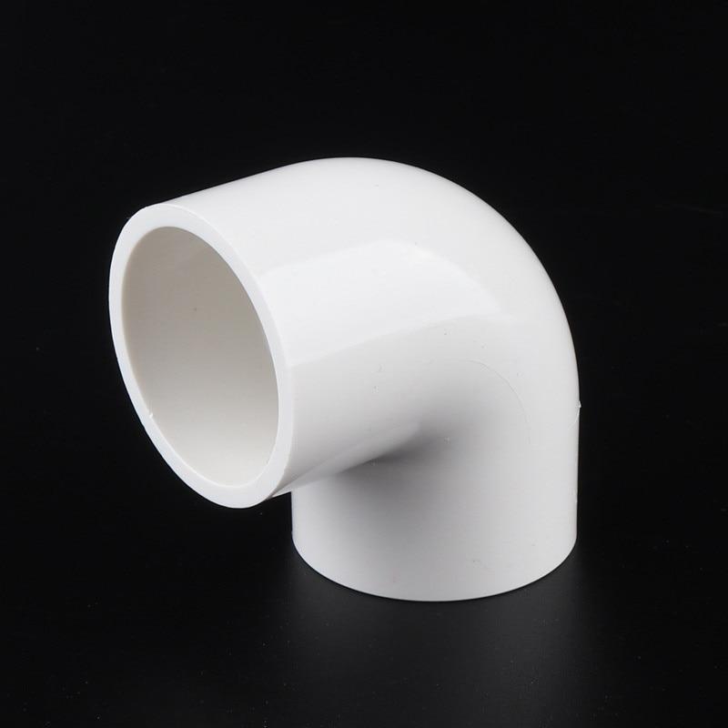 Codo 20 piezas de 32mm, accesorios de PVC de 90 grados, tubo de plástico, Unión de tubo de codo para suministro de agua, riego, Circulación de acuario