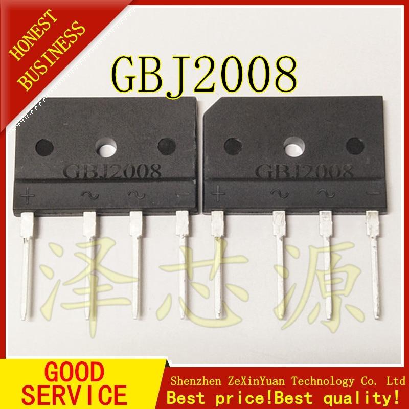2 шт./лот GBJ2008 20A 800V