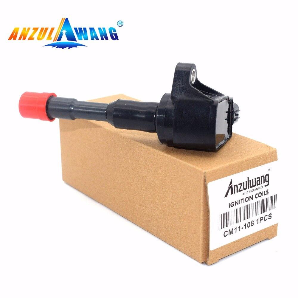 1pcs CM11-108 30521-PWA-003 30521-REA-Z01 30521-PWA-S01 Ignition Coil For Honda Civic VII Stufenheck VIII Hatchback Jazz II III