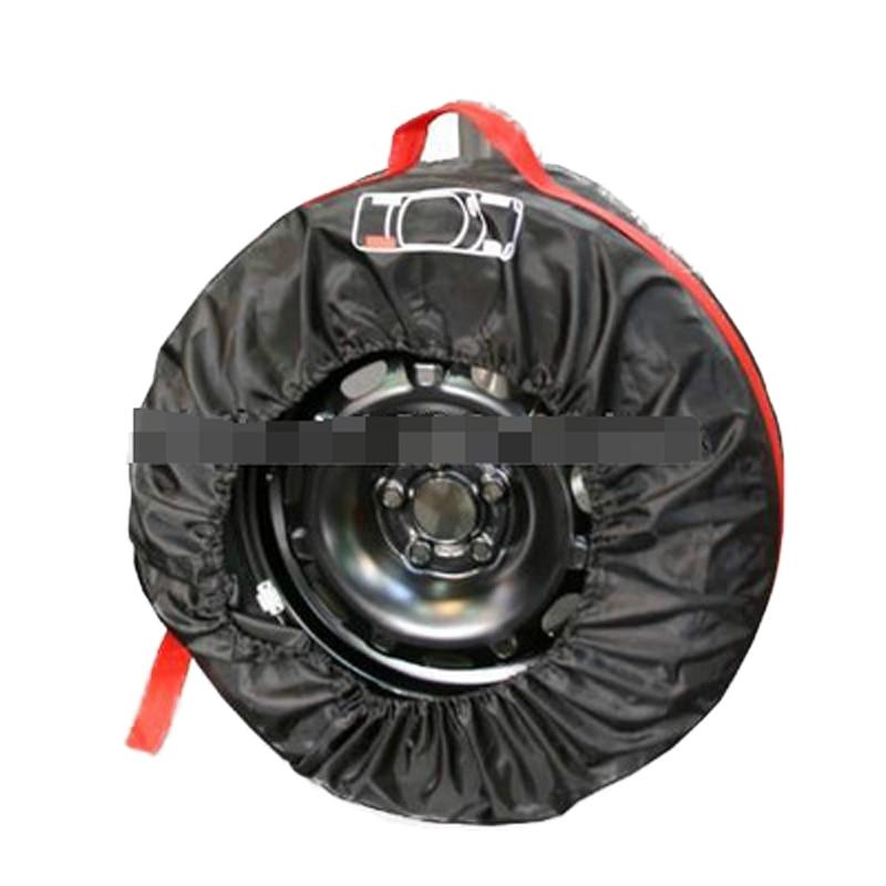 CHIZIYO запасная крышка для шин, чехол для гаражных шин из полиэстера, зимняя летняя сумка для хранения автомобильных шин, аксессуары для автом...