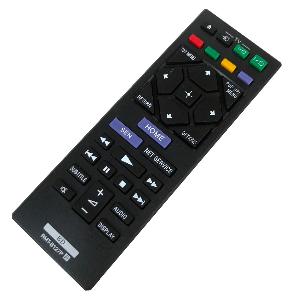 NEW remote control for Sony BD player RMT-B127P BDP-S6200 BDP-S1200 BDP-S3200 BDP-S4200 BDP-S5200