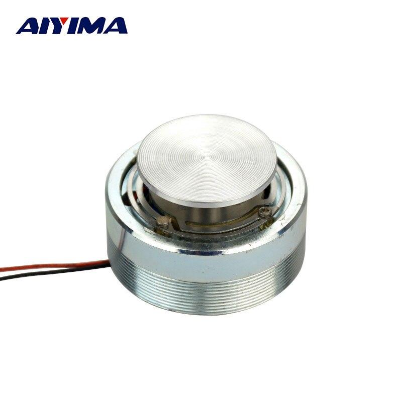 AIYIMA 2 дюйма 50 мм мини аудио портативный звуковой динамик s 4 Ом 25 Вт резонанс и вибрация басы громкий динамик полный диапазон рог динамик