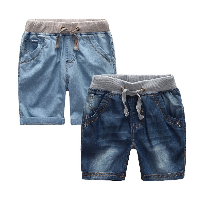 Boys Summer Jeans Shorts Children Cowboy Shorts Cotton Short Pants 2018 Casual Baby Boys Trousers 3-12 Years Kids Clothes