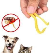 2 PCS 3 Colors Fleas Lice Twister Hook Tools Dog Cat Pet Cleaner Pet Supplies Tick Remover Tool Tweezers Puppies Drop Shipping