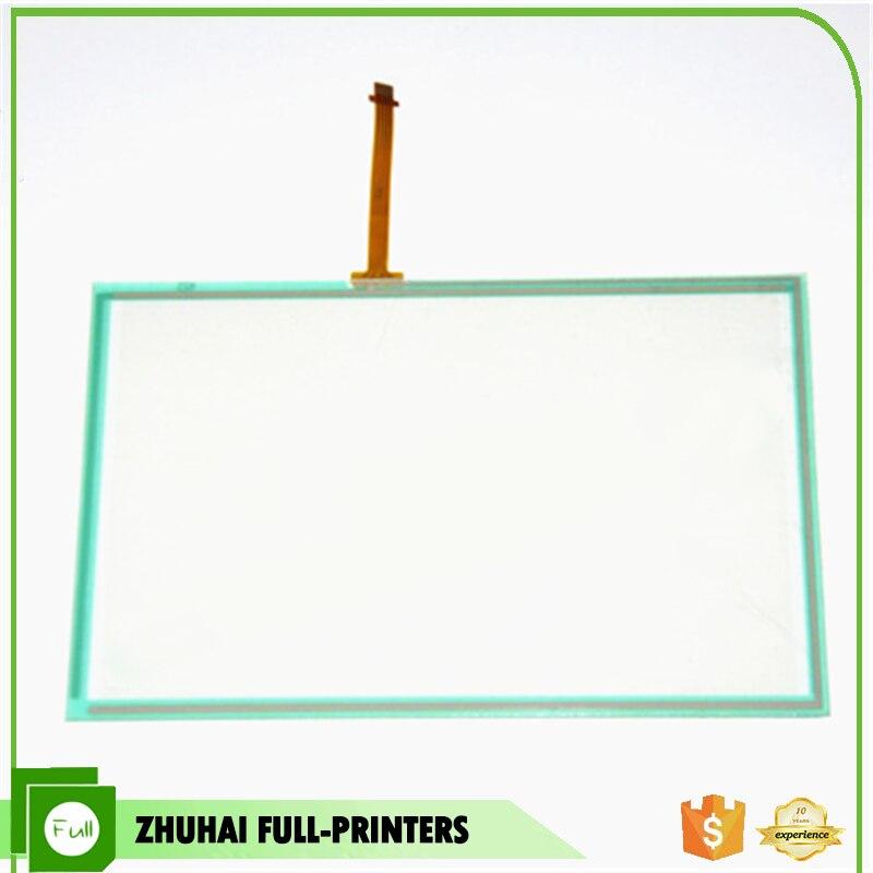 Tela de toque de Vidro Do Painel de Toque Da Copiadora para Konica Minolta Bizhub C203 C253 C353 C353P C451 C550 C650 A02EM70001 LINHA NA BORDA LARGA