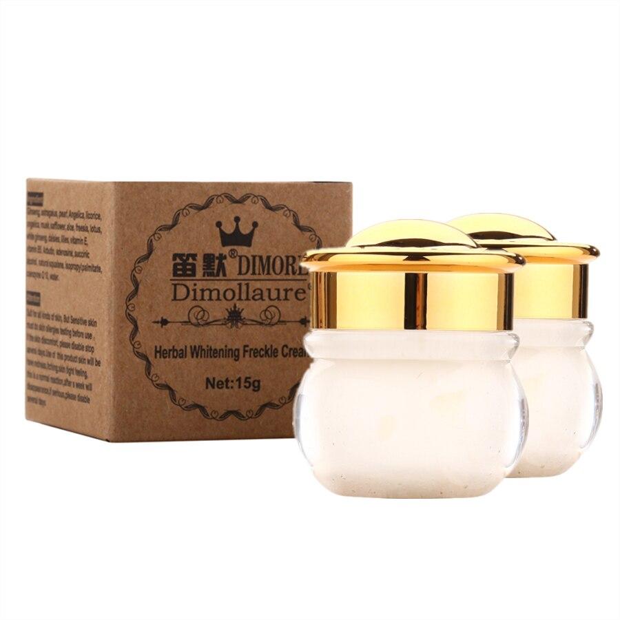 2pcs Dimollaure whitening Freckle cream Remove melasma Acne Spots Butterfly rash face care scar removal cream Dimore cosmetics