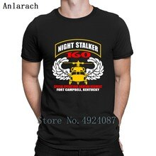 Stijgen 160th Night Stalker T-shirt Beroemde Trend Zonlicht Nieuwe Collectie Mens Tee Shirts Katoen Designer Slogan Basic Effen