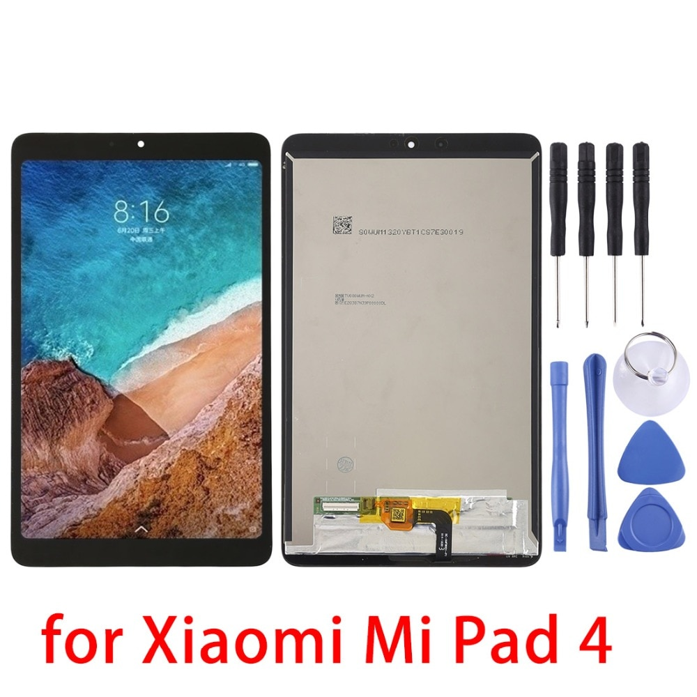 Nuevo 8 pulgadas para Xiaomi Mi Pad 4 pantalla LCD y digitalizador conjunto completo para Xiaomi Mi Pad 4 piezas de repuesto