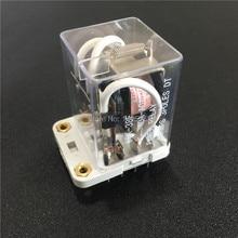 Relais haute puissance 12VDC 24VDC   1 pièce, 40A HHC71B, bobine 110VAC 220VAC, relais électromagnétique 11 broches 3PDT 3NO 3NC
