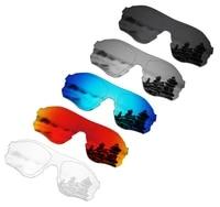 smartvlt 5 pieces polarized sunglasses replacement lenses for oakley evzero path 5 colors