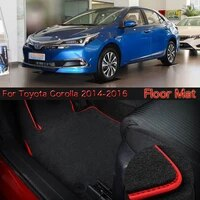 savanini high quality soft nylon custom made non slip heavy duty floor carpet mat rugs for toyota corolla 2014 2016