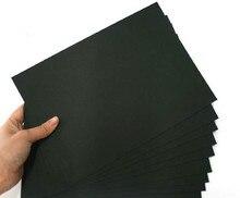 Hohe qualität 50 stücke A3/A4 schwarz karton papier manuelle karton papier Album marmeladen karton papier kostenloser versand