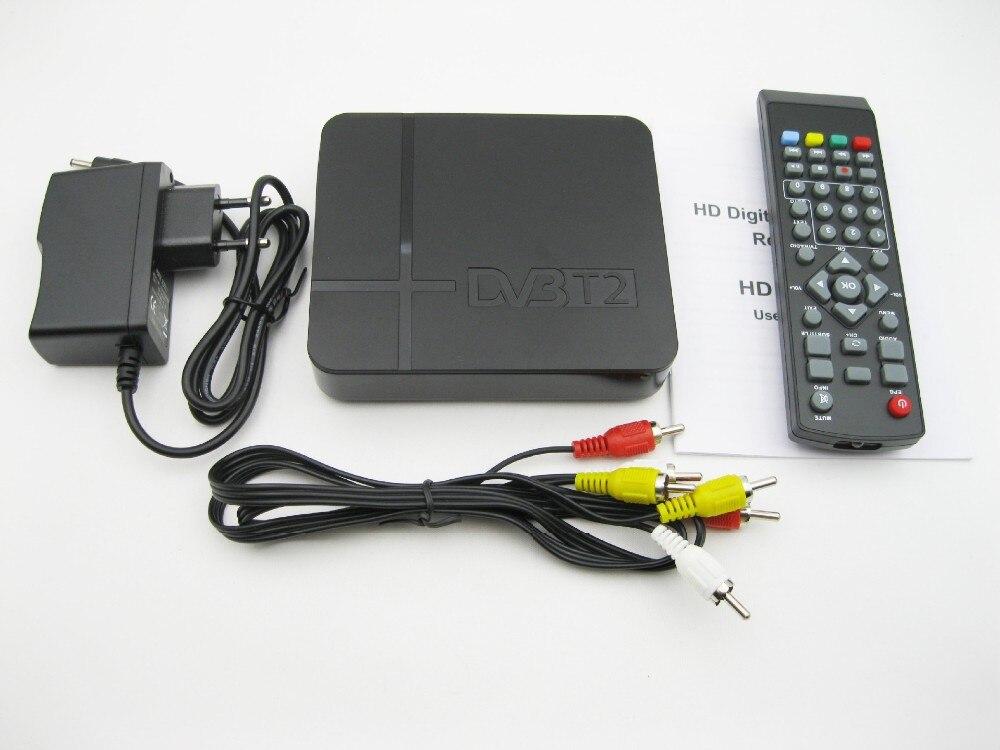 De TV Digital terrestre Receptor DVB T2 K2 apoyo youtube TLC H.264 MPEG-2/4 PVR sintonizador de TV FULL HD 1080P set top box