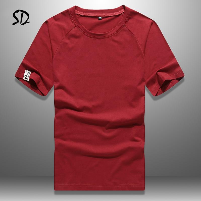 Tamaño de Europa T camisas para hombres Casual Camiseta Hombre transpirable camiseta ropa deportiva de manga corta Camisetas nueva llegada Top 2019