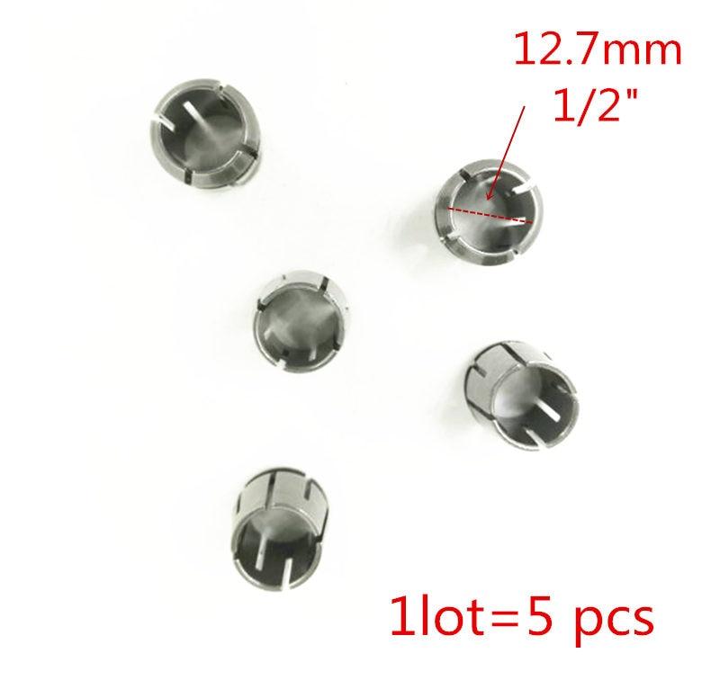 """5 boquilla de cono de 1/2 """"12,7mm 12mm para MAKITA 763622-4 763628-2 3612Y 3612X 3612 de 3612T de 3612CY 3612C 3612CT 3612BR 3600H MT360"""